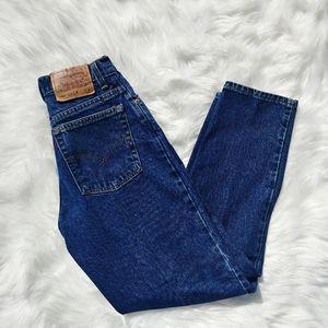 Levi's Bottoms - Levi's 550 Dark Blue Jeans